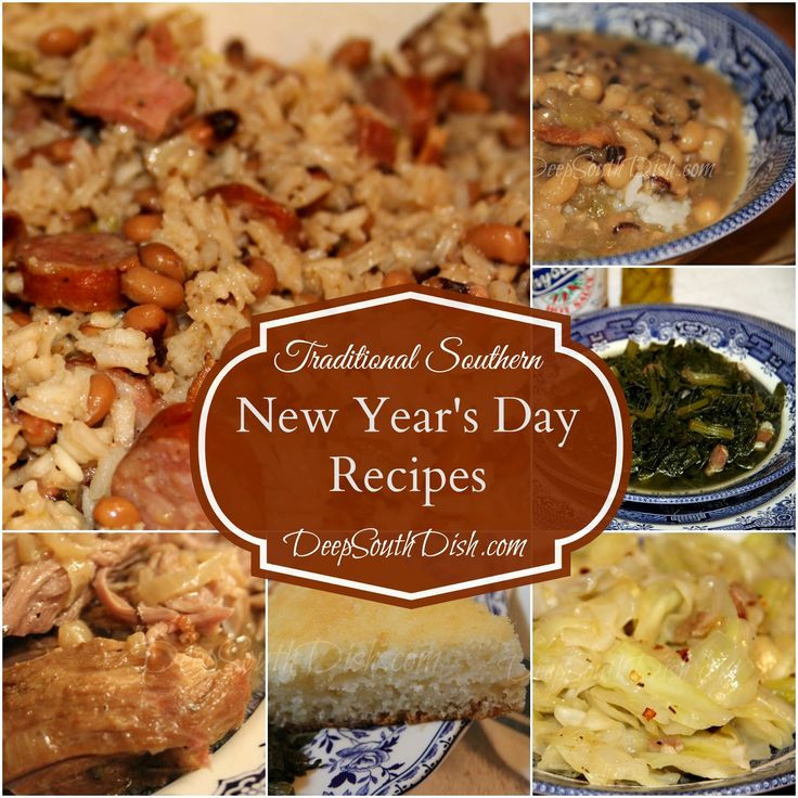 Traditional New Year'S Day Dinner  Traditional Southern New Year s Day Recipes