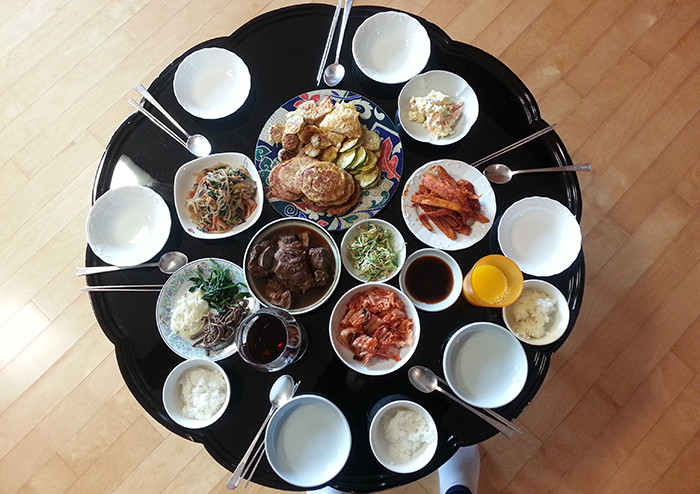 Traditional New Year'S Dinner  Lunar New Year in South Korea