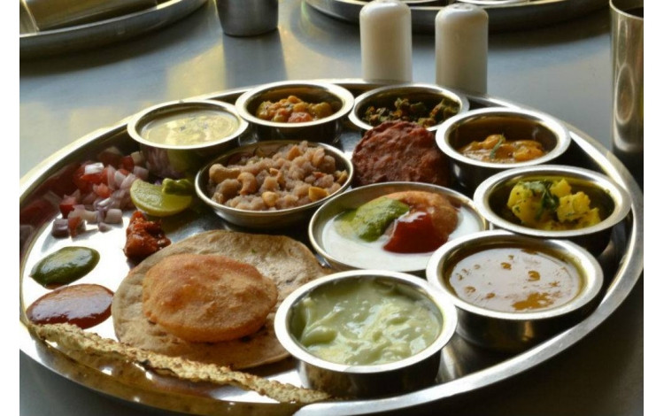 Traditional New Year'S Dinner  Traditional Gujarati Dinner A4Ahmedabad