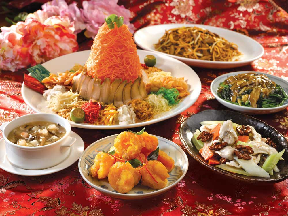 Traditional New Year'S Dinner  2016 Lunar New Year festive feasting at RWS Resorts