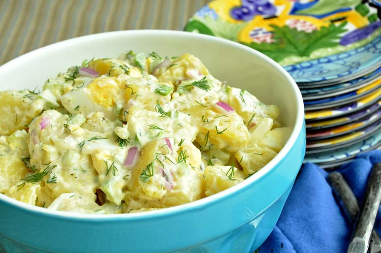 Traditional Potato Salad  Classic Potato Salad — Former Chef