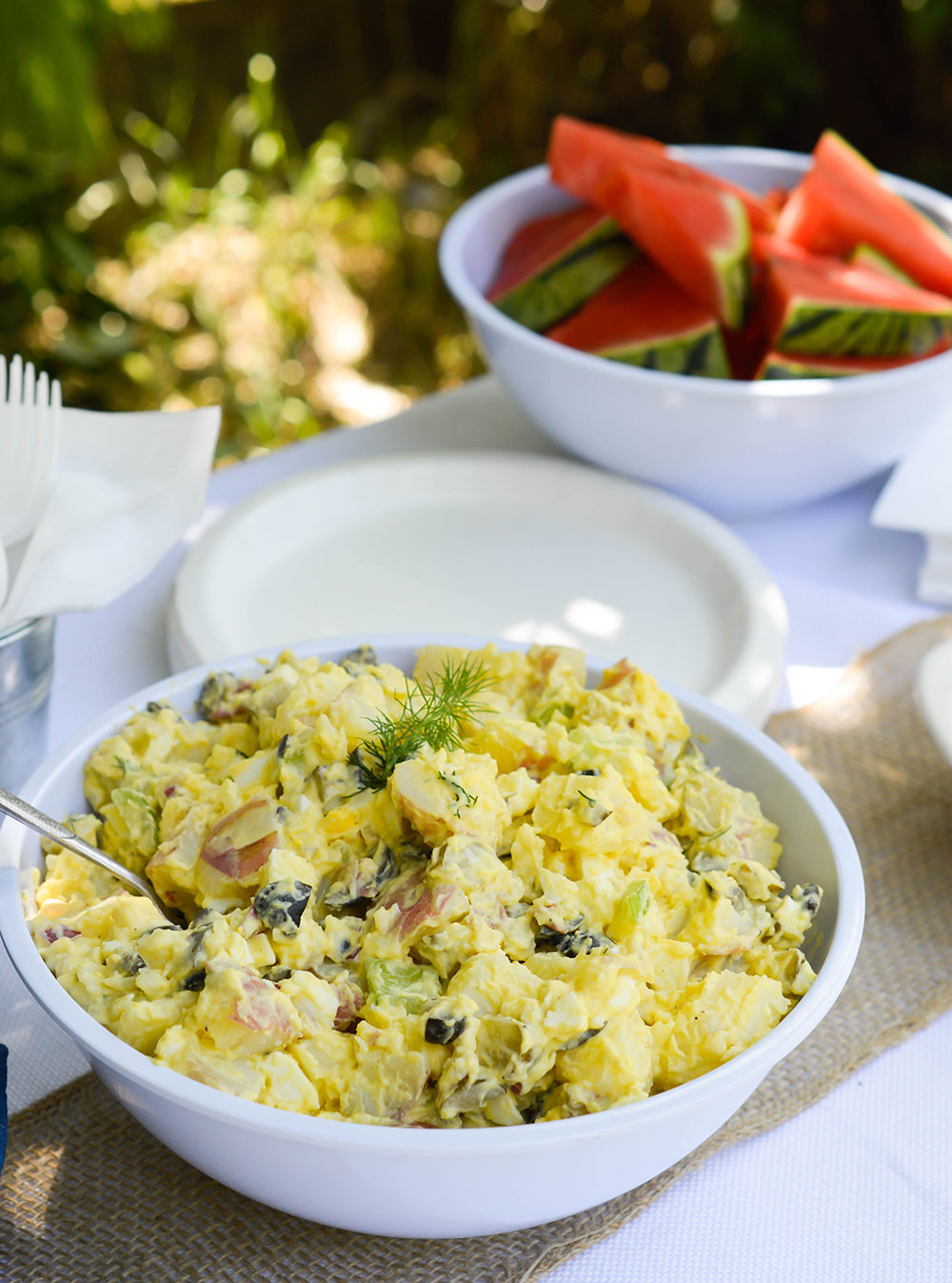 Traditional Potato Salad  Classic Potato Salad Recipe WonkyWonderful