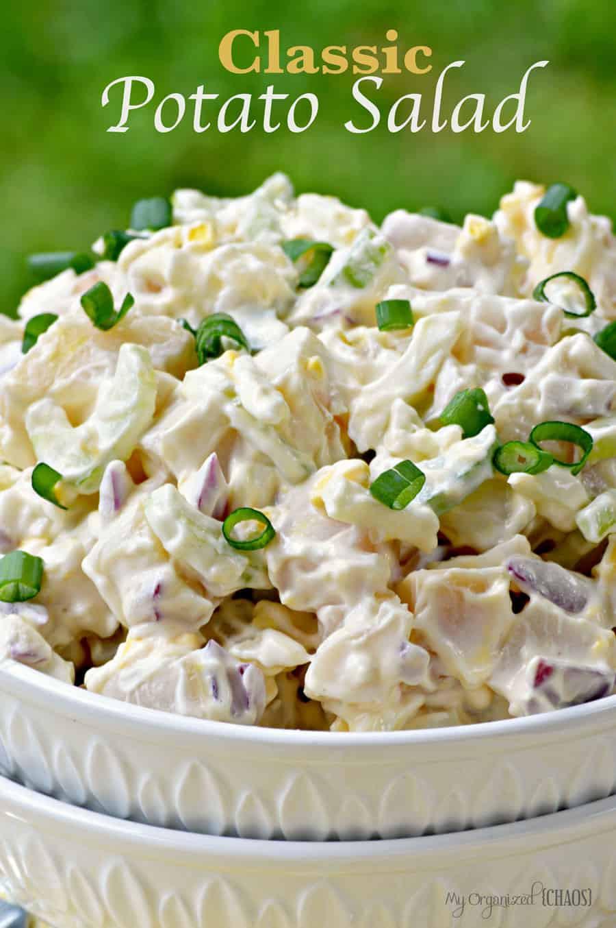 Traditional Potato Salad  Classic Potato Salad