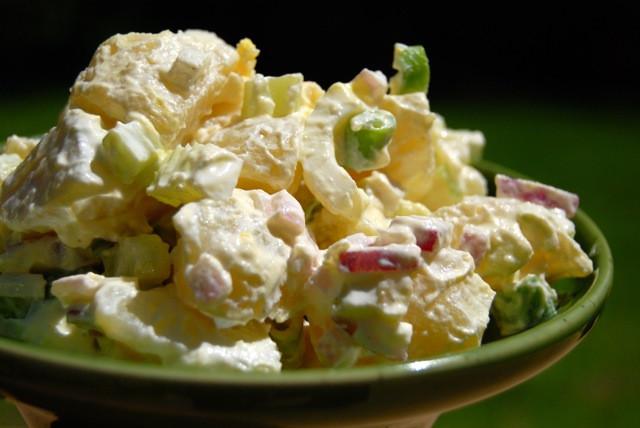 Traditional Potato Salad  Classic Potato Salad Low Sodium Style The Daily Dish