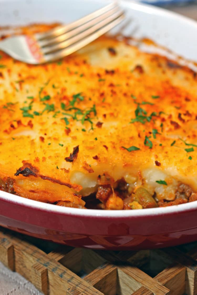 Traditional Shepherd'S Pie  Easy Cottage Pie with Red Wine Kevin Is Cooking