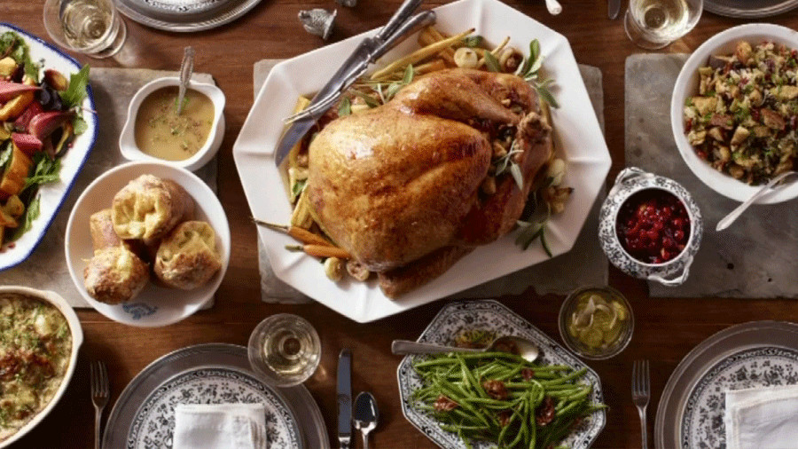 Traditional Thanksgiving Dinner Menu  Traditional Thanksgiving Dinner menu ideas Trends in USA