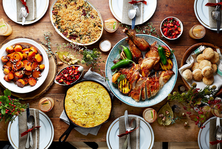 Traditional Thanksgiving Dinner Menu  Thanksgiving Menu Recipes Traditional Thanksgiving