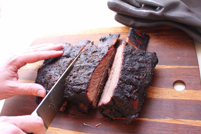 Traeger Beef Ribs  Traeger – Tim s Kitchen OC