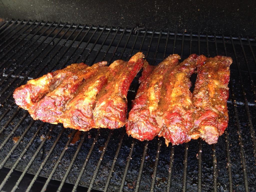 Traeger Beef Ribs  smoked beef ribs traeger