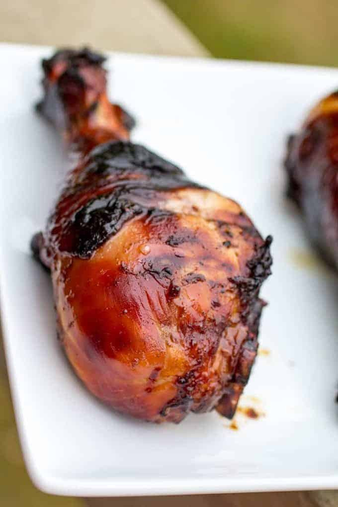 Traeger Chicken Legs  Honey Balsamic Traeger Grilled Chicken Legs