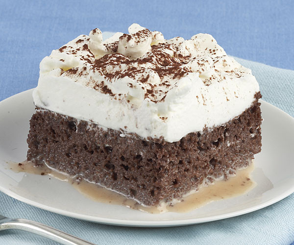 Tres Leche Cake Recipe  Chocolate Tres Leches Cake FineCooking