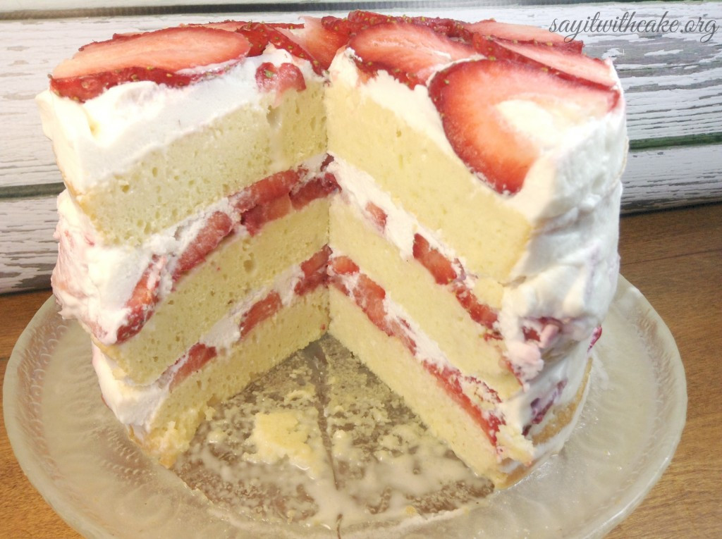 Tres Leche Cake Recipe  Layered Tres Leche Cake with Strawberries – Say it With Cake