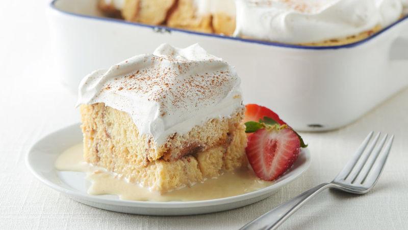 Tres Leche Cake Recipe  Overnight Cinnamon Roll Tres Leches Cake Recipe
