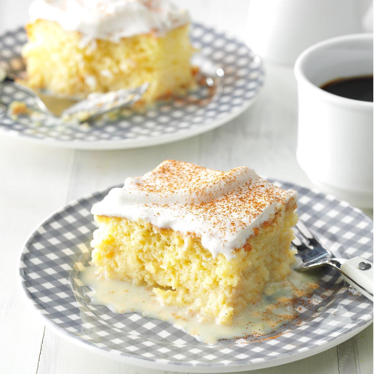 Tres Leche Cake Recipe  Shortcut Tres Leches Cake Recipe