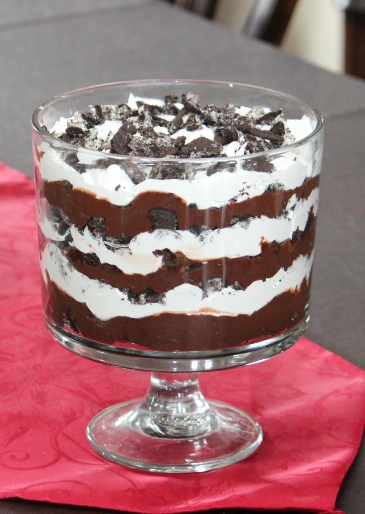 Triffle Dessert Recipe  Oreo Trifle Recipe Frugal Fanatic