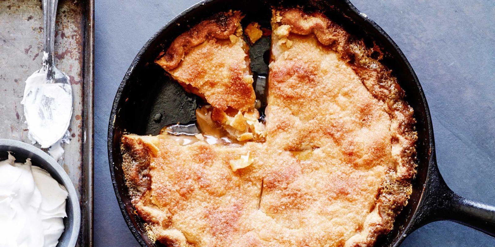 Trisha Yearwood Skillet Apple Pie  Mrs Carter s Skillet Apple Pie Recipe Trisha Yearwood