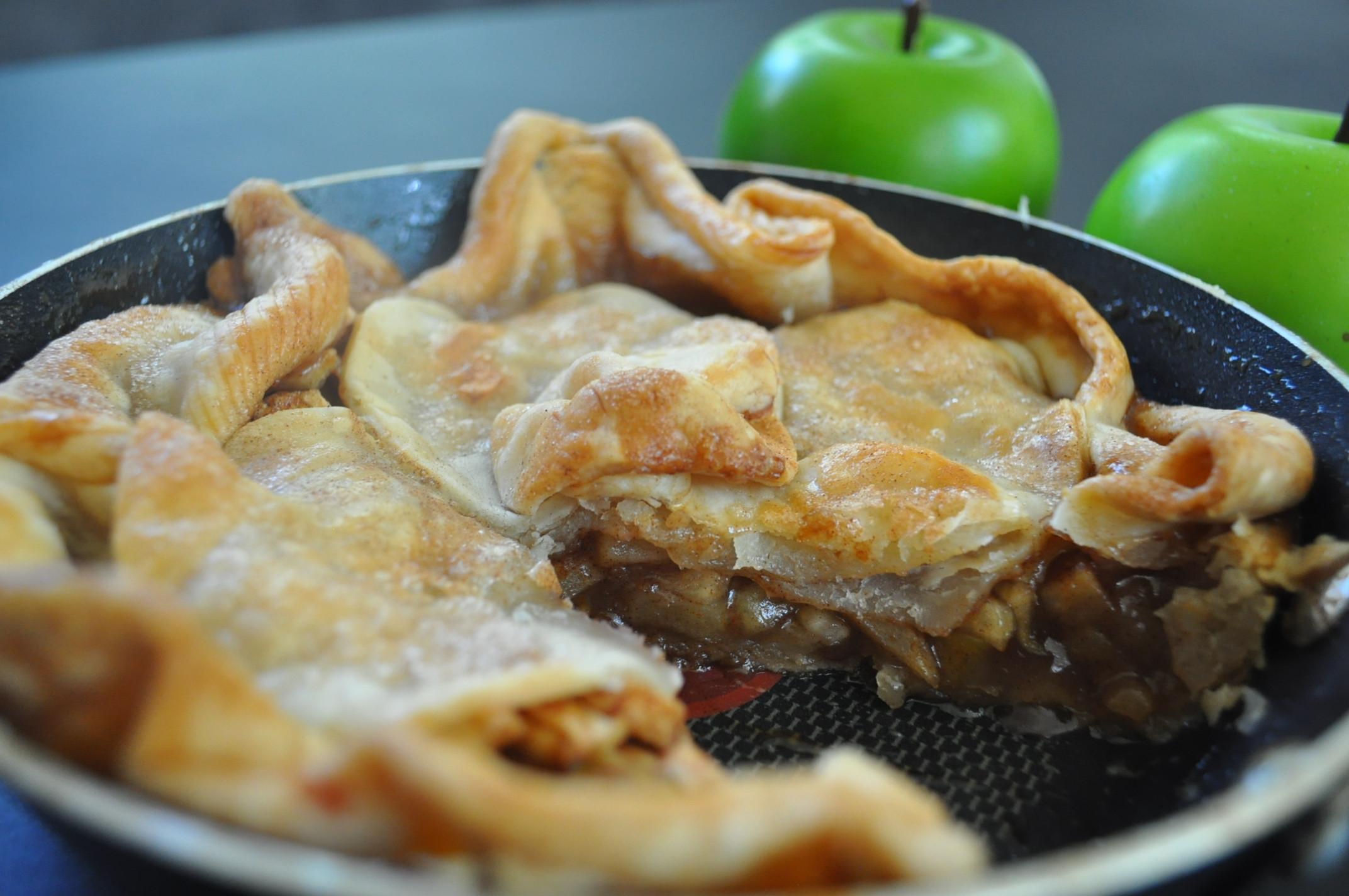 Trisha Yearwood Skillet Apple Pie  Skillet Apple Pie A Recipe from Trisha Yearwood