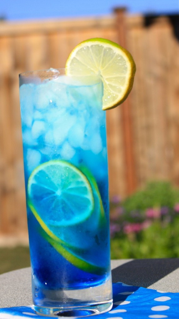 Tropical Drinks With Vodka  Blue Tropical Paradise Cocktails – Alcohol Mix Holiday