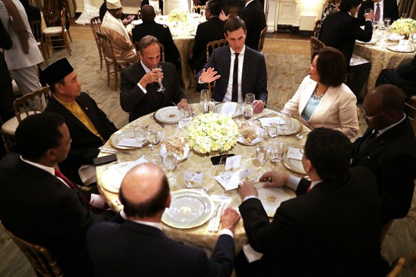 Trump Ramadan Dinner  Donald Trump hosts first Iftar dinner wishes Muslims