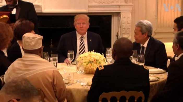 Trump Ramadan Dinner  Law & Government