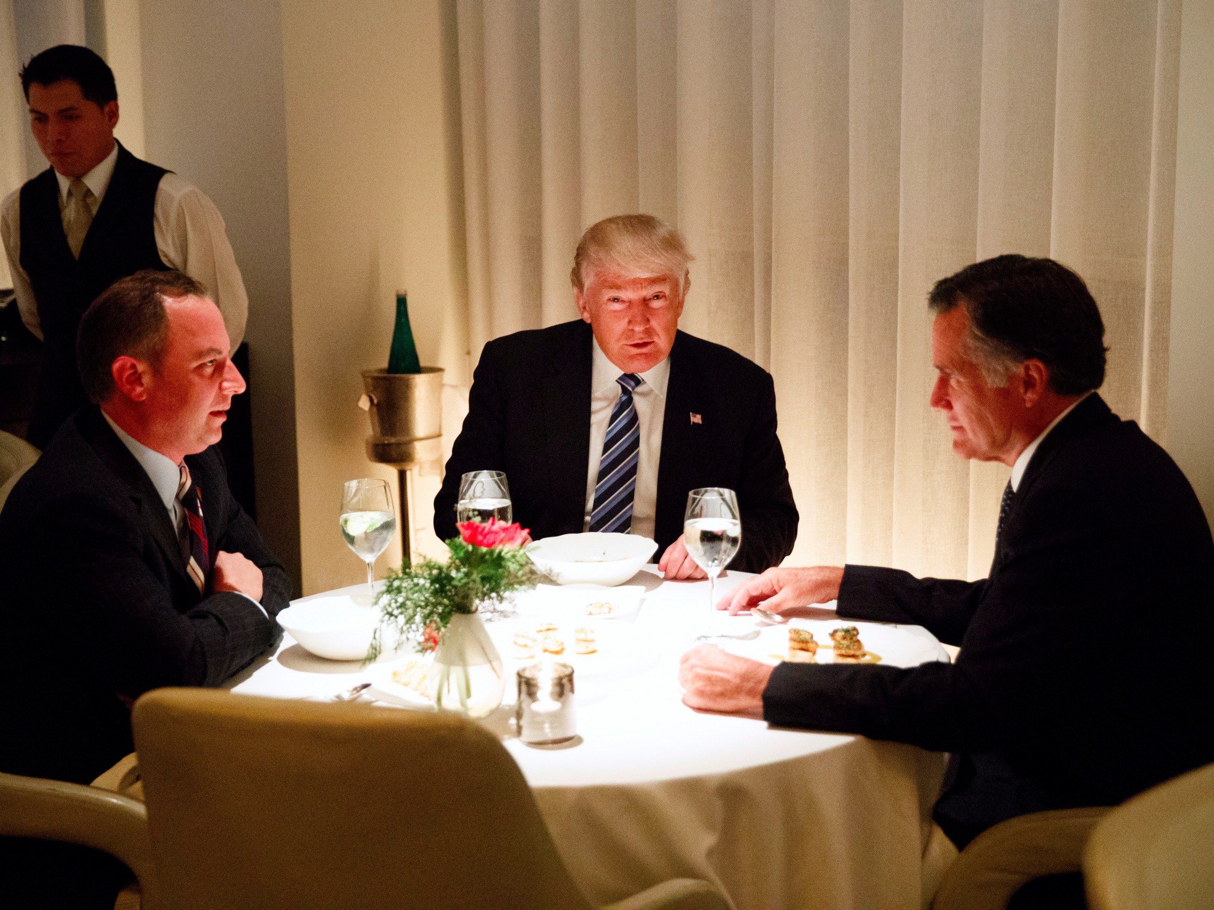 Trump Romney Dinner  What it s like to eat at the $138 a person restaurant