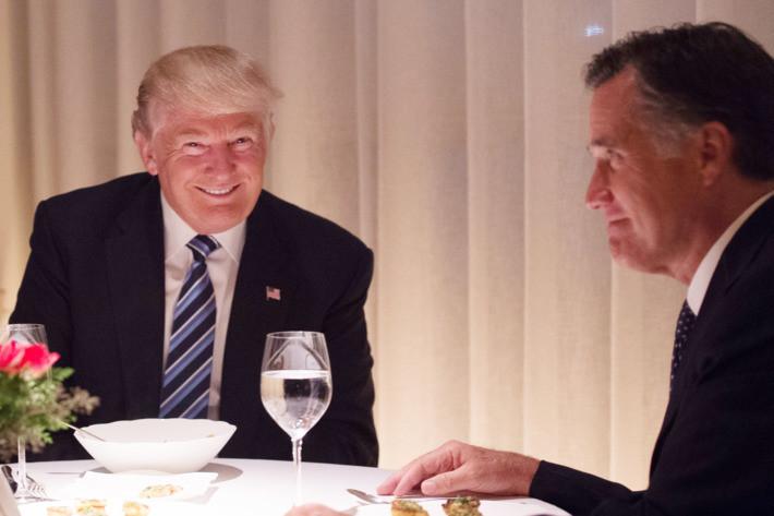 Trump Romney Dinner  Americans Eagerly Mock Mitt Romney and Donald Trump s Dinner