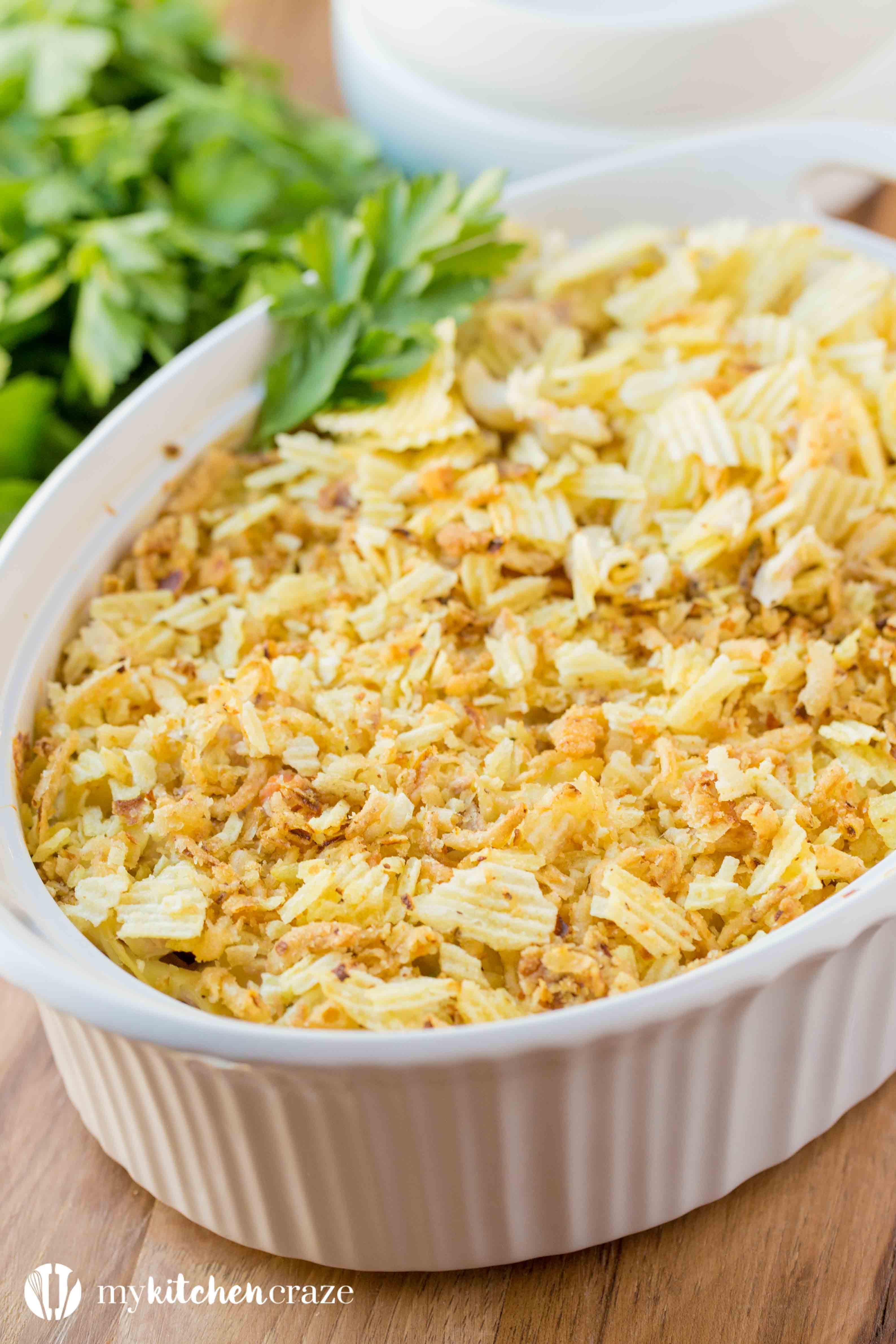 Tuna Casserole Easy  Tuna casserole easy recipes Food easy recipes
