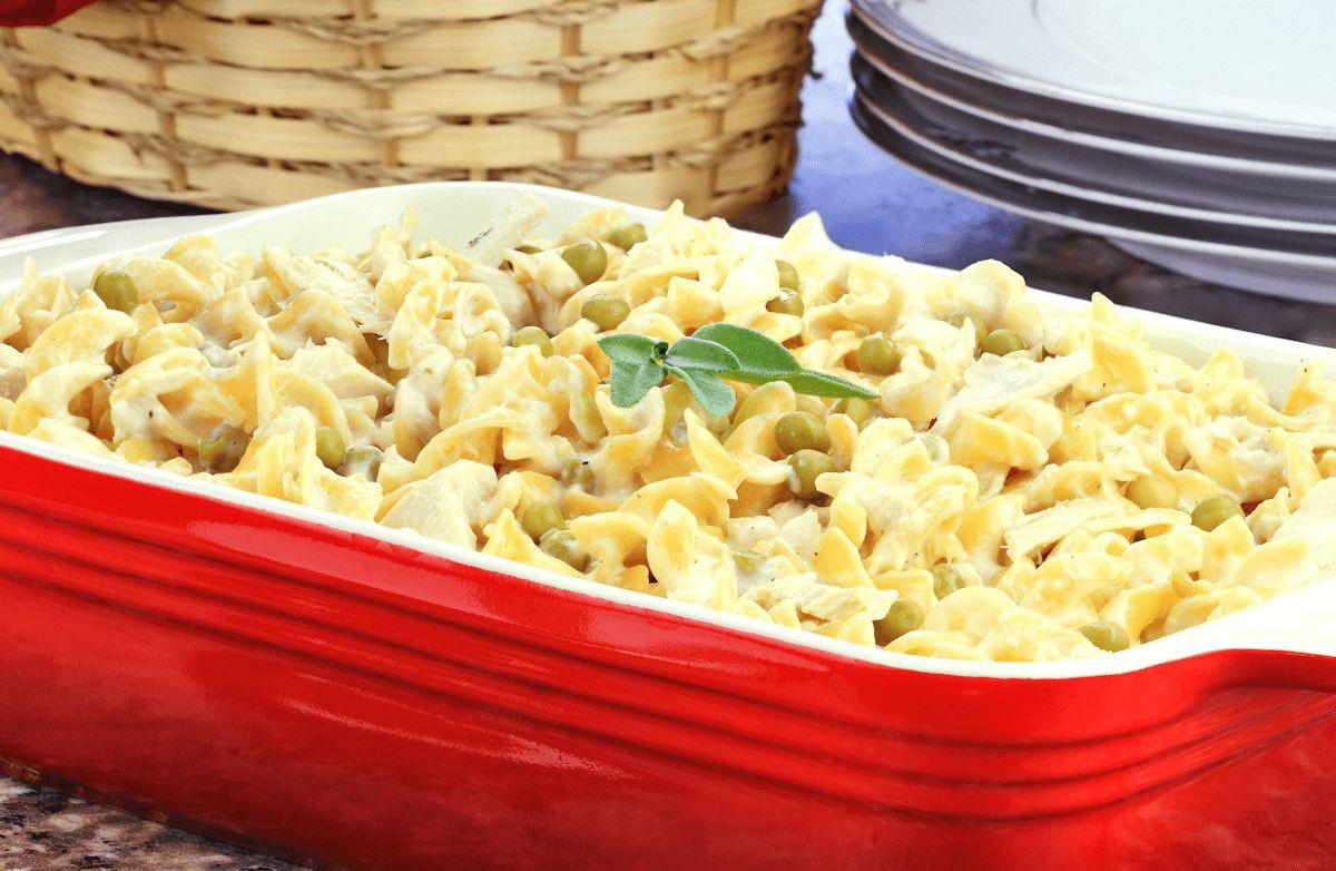 Tuna Casserole Easy  Easy Tuna Noodle Casserole Recipe
