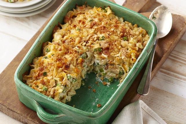 Tuna Casserole Easy  Easy Tuna Noodle Casserole Recipe Kraft Recipes