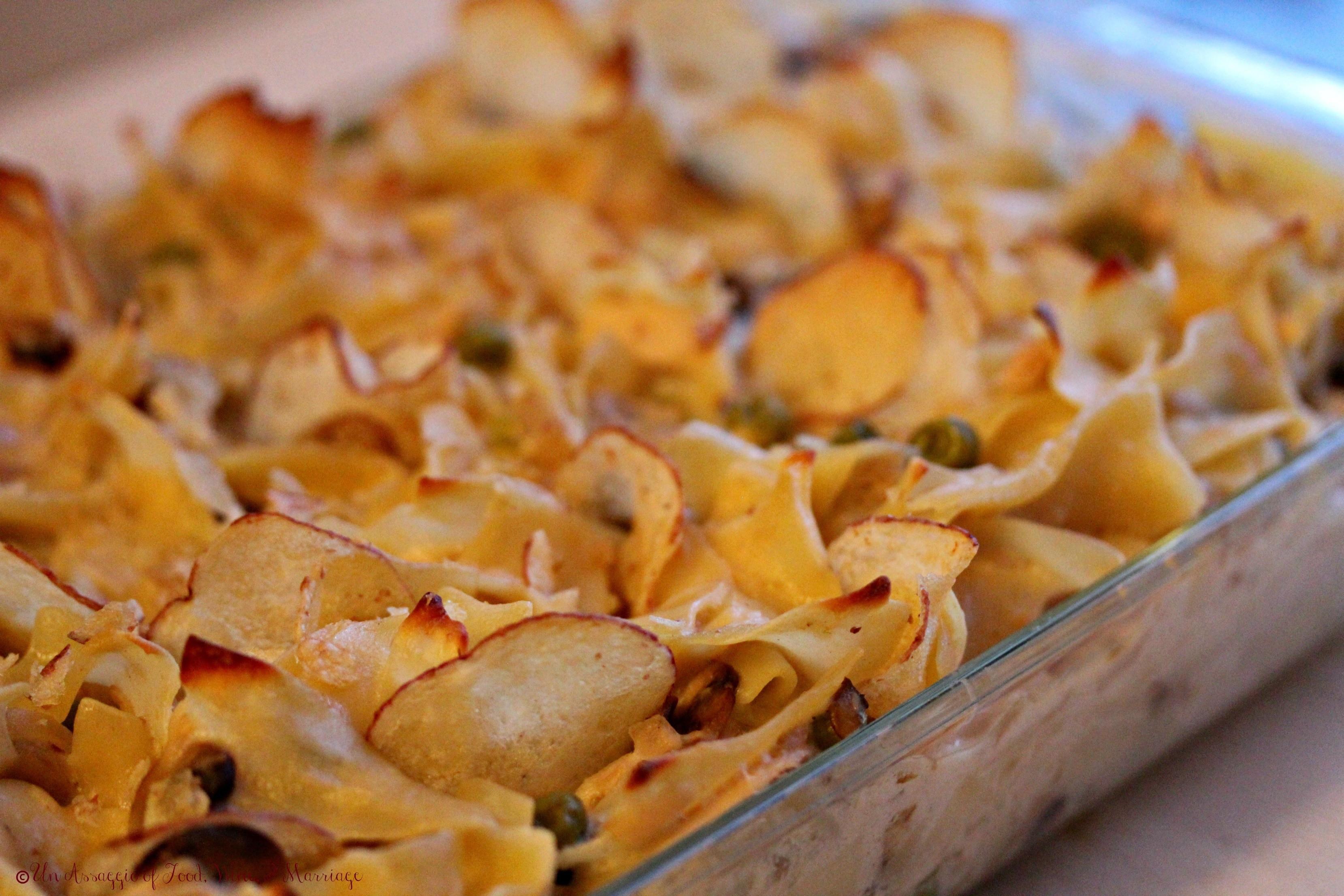 Tuna Casserole With Chips  tuna casserole Archives Un Assaggio of Food Wine