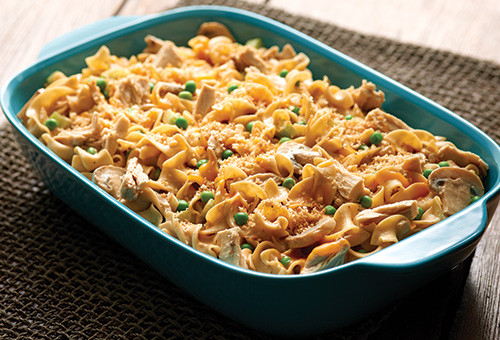 Tuna Casserole With Egg Noodles  American Beauty Tuna Noodle Casserole