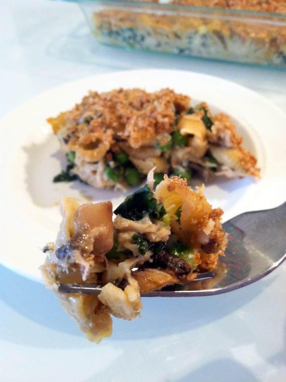 Tuna Casserole With Mayo  Healthy Tuna Noodle Casserole