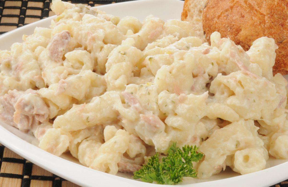 Tuna Casserole With Mayo  Tuna Noodle Casserole Simple & Cheesy Recipe