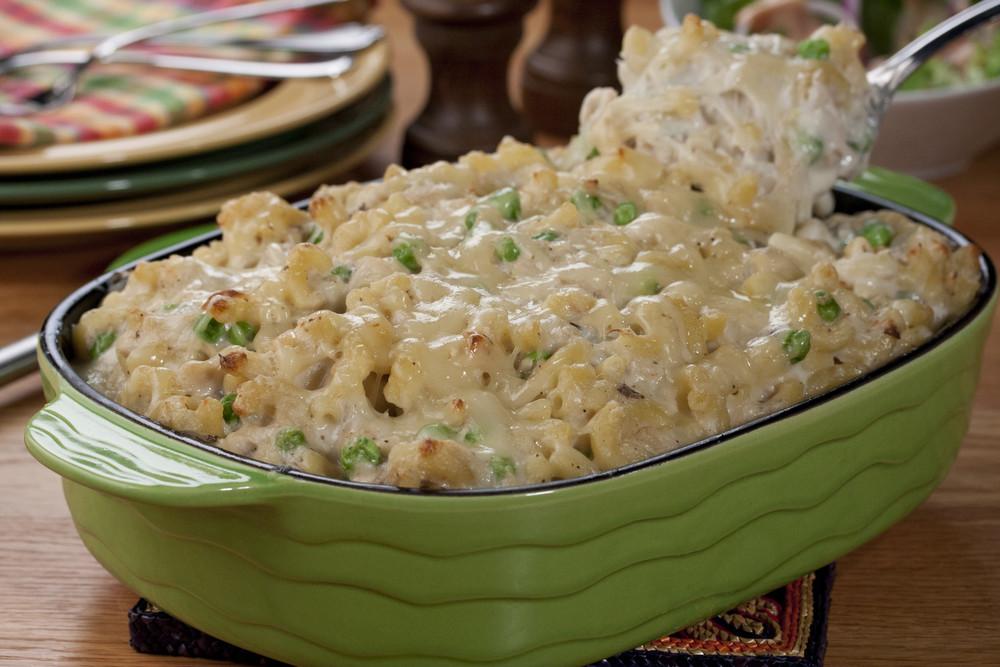 Tuna Casserole With Mayo  Family Favorite Tuna Noodle Casserole