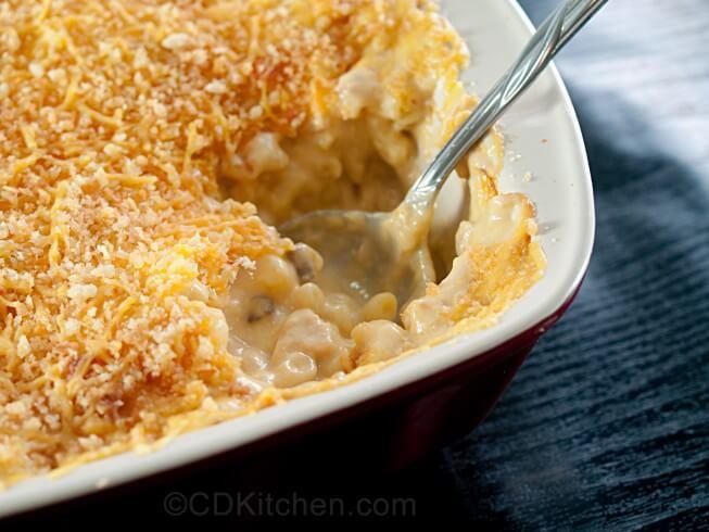 Tuna Macaroni Casserole  Good Ole Macaroni Tuna Casserole Recipe