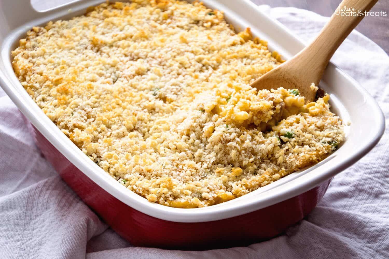 Tuna Macaroni Casserole  Tuna Macaroni Casserole Julie s Eats & Treats