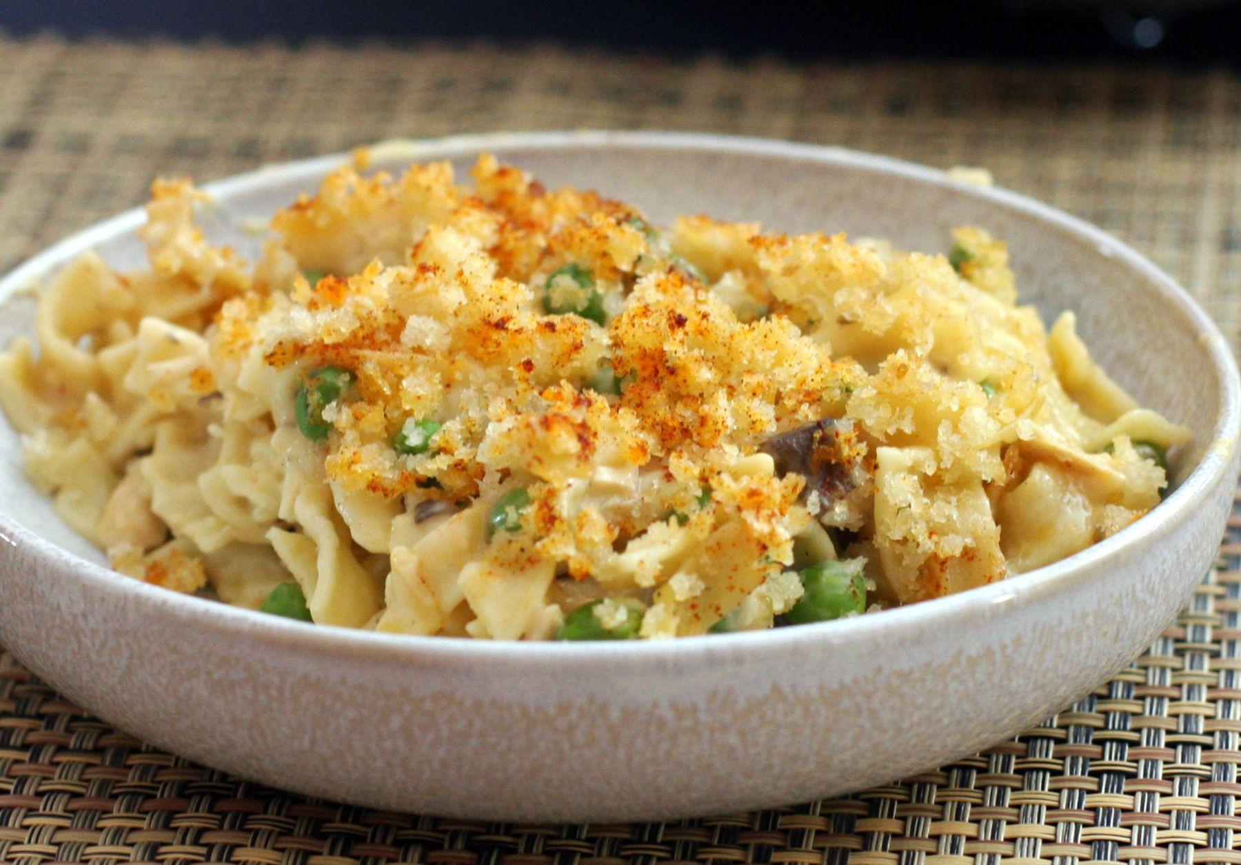 Tuna Noodle Casserole Recipes  Easy Tuna Noodle Casserole Recipe With Cheddar Cheese