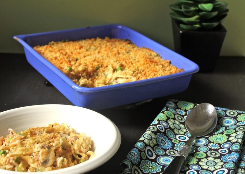 Tuna Noodle Casserole With Cream Of Mushroom Soup  Tuna Noodle Casserole Lake Lure Cottage KitchenLake Lure
