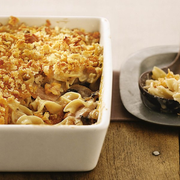 Tuna Noodle Casserole With Cream Of Mushroom Soup  Tuna Noodle Casserole recipe