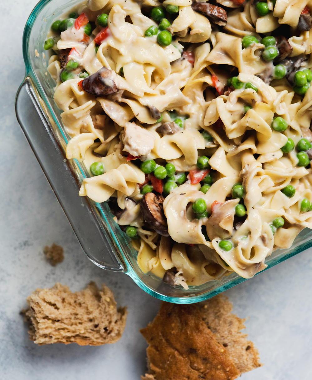 Tuna Noodle Casserole With Cream Of Mushroom Soup  Tuna Noodle Casserole with Cream of Mushroom Soup
