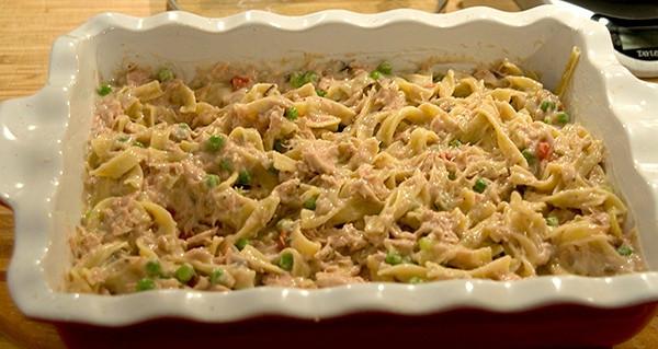 Tuna Noodle Casserole With Cream Of Mushroom Soup  Tuna Noodle Casserole Never Enough Thyme