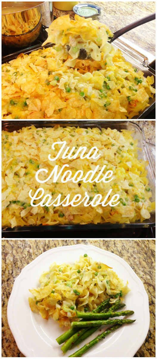 Tuna Noodle Casserole With Potato Chips  Pinterest • The world's catalog of ideas