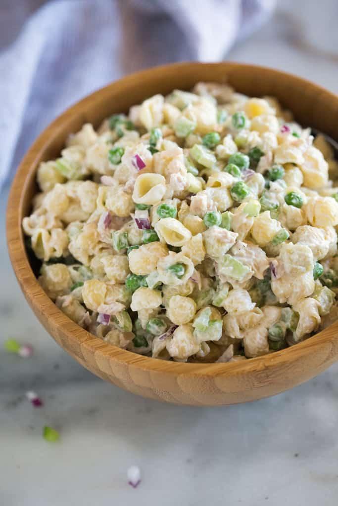 Tuna Pasta Salad Recipe  Classic Tuna Pasta Salad Tastes Better From Scratch
