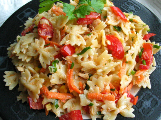Tuna Pasta Salad Recipe  Healthy Tuna And Pasta Salad Recipe Genius Kitchen