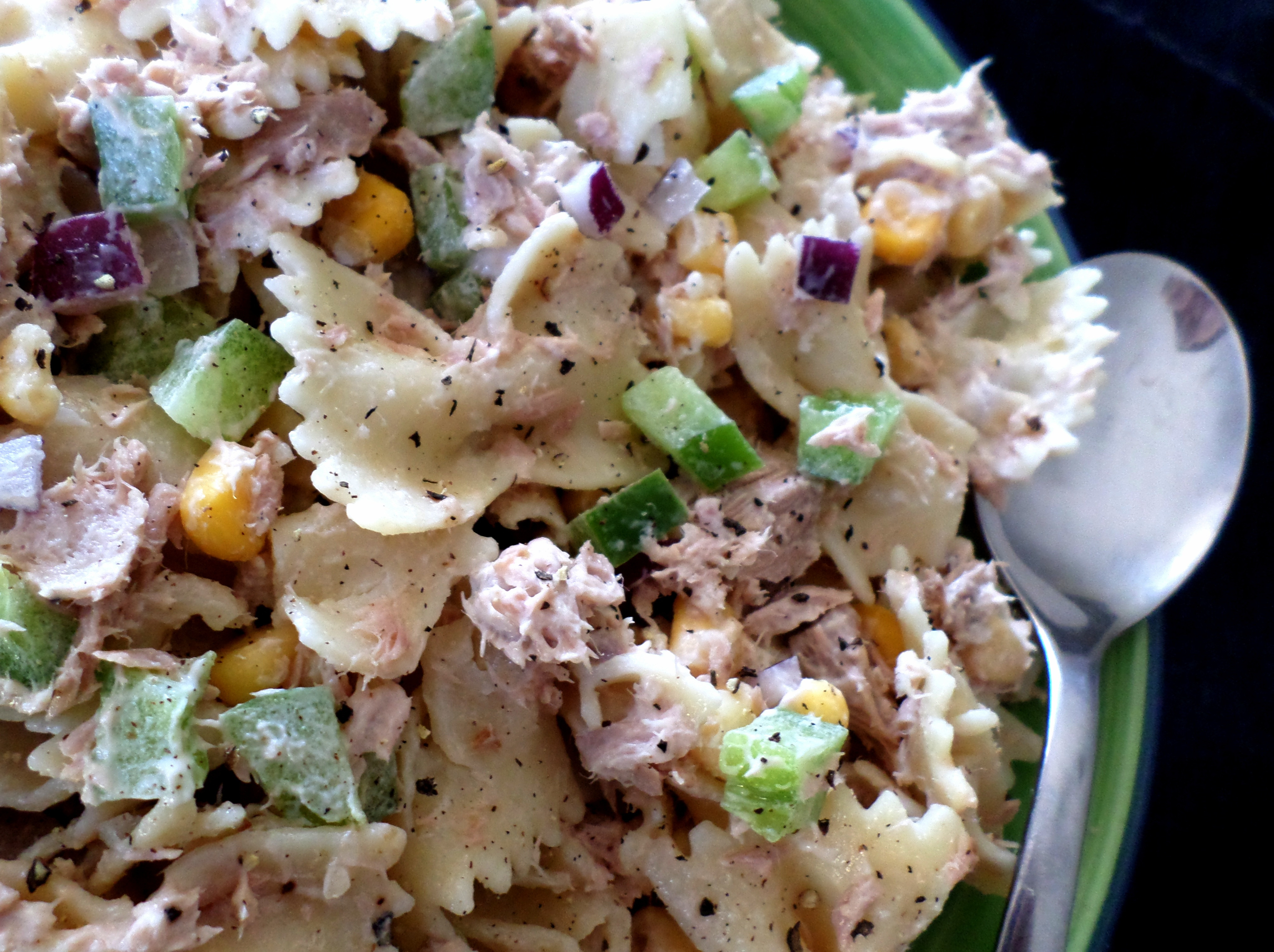 Tuna Pasta Salad Recipe  Tuna Pasta Salad with Lemon and Garlic Aioli