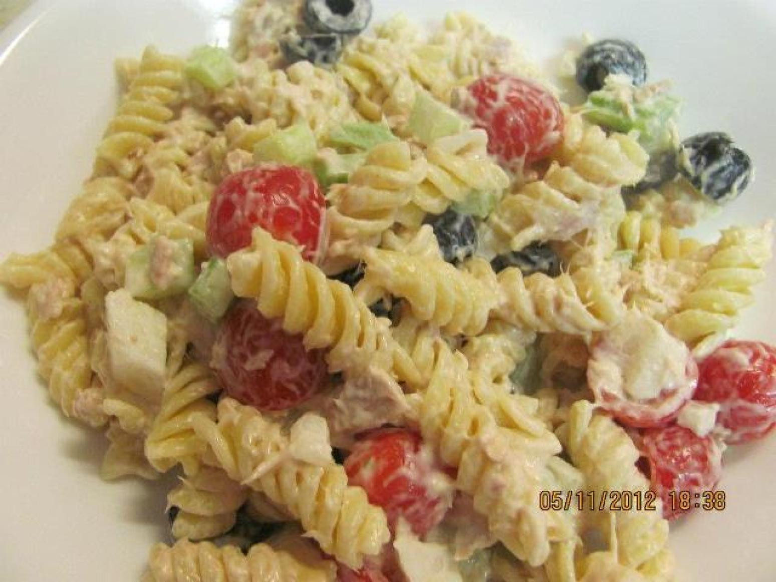 Tuna Pasta Salad Recipe  Tuna Pasta Salad Recipe