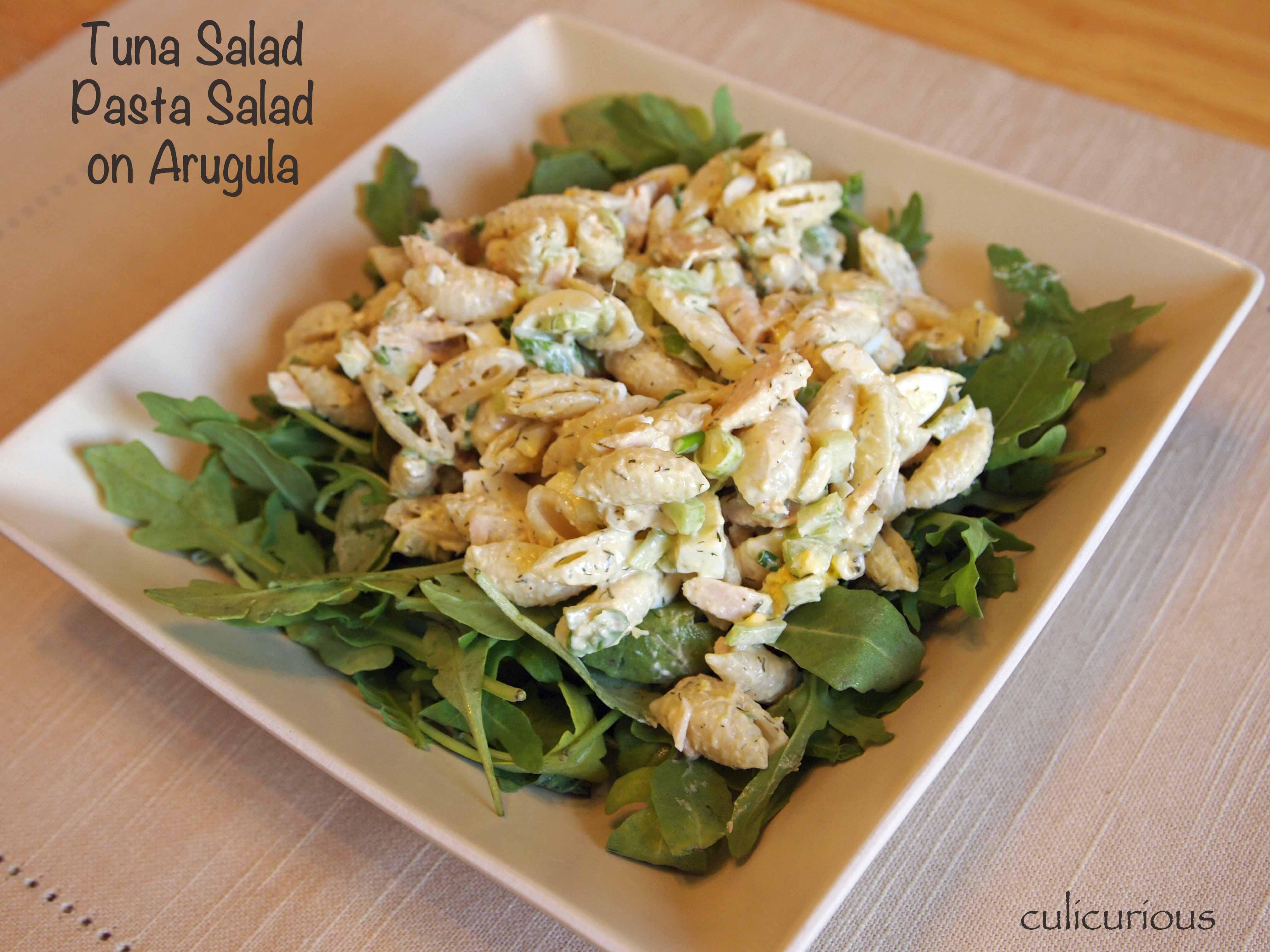 Tuna Pasta Salad Recipe  Tuna Salad Pasta Salad Recipe culicurious