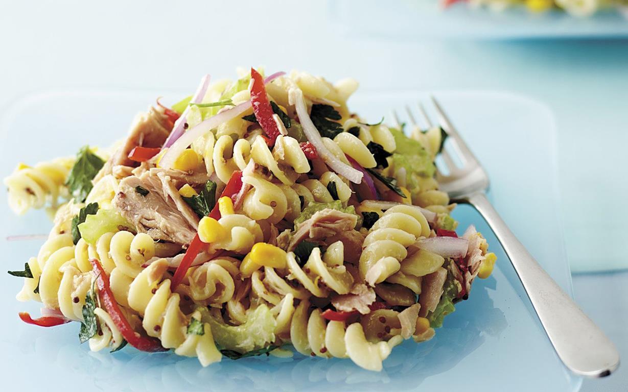 Tuna Pasta Salad Recipe  tuna pasta salad