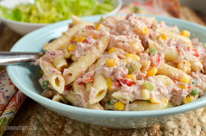 Tuna Pasta Salad  Slimming World Tuna Pasta Salad