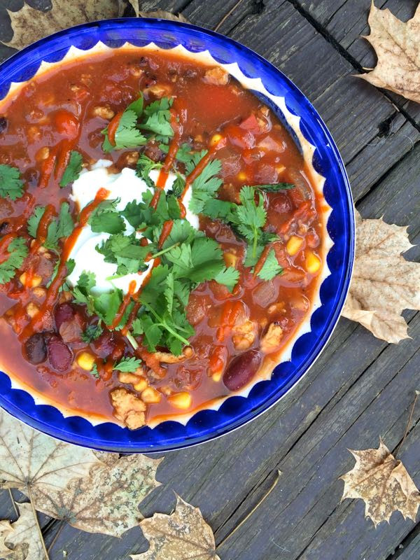 Turkey Black Bean Chili  17 Recipes with 300 Calories or Less